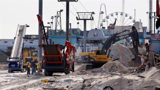 Seaside Heights OKs Contract to Rebuild Boardwalk