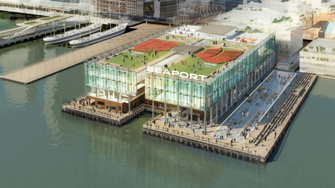 Overhaul Planned for NYC's South Street Seaport