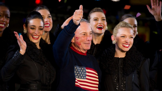 "Bloomberg Talks Gun Control, Sandy Aid and the Rockettes on ""Fallon"""