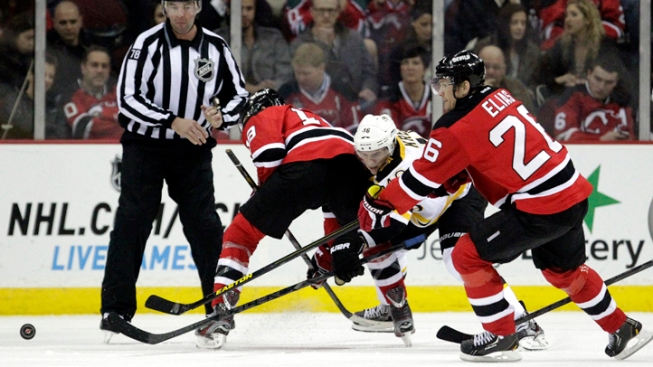 Devils Fall to Bruins 5-4