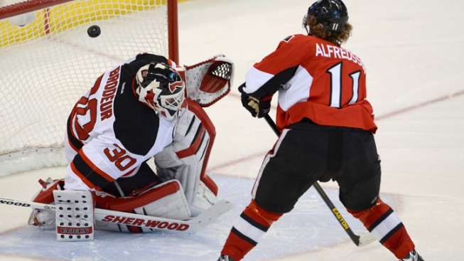Devils Fall to Senators 3-2