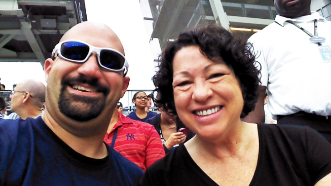 Justice Sotomayor Joins Yankees Bleacher Creatures