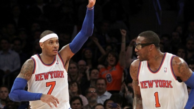 The Offense Comes Together for the Knicks