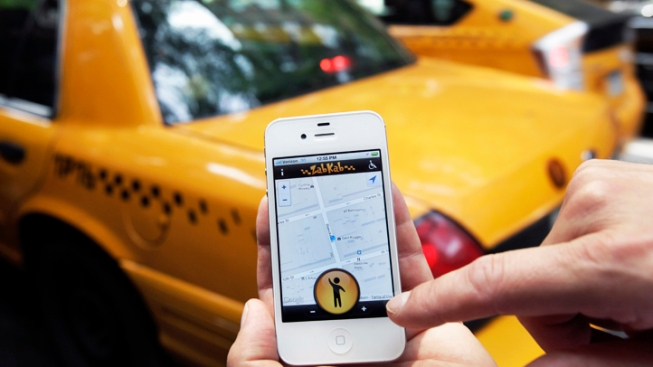 New App Lets Riders Hail Cabs by Smartphone