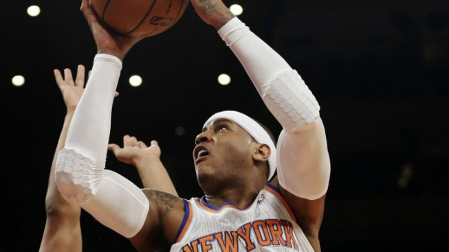 Carmelo Returns and Knicks Shine a Little Brighter
