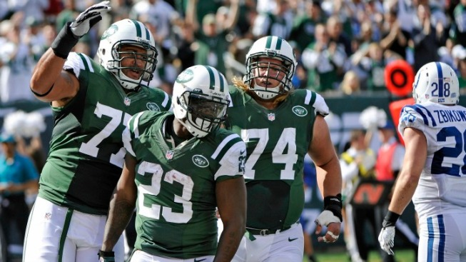 Jets Rediscover Their Smiles and Their Running Game