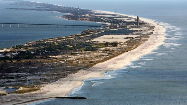 Half Of Fire Island S Beaches Dunes Washed Away By Sandy Usgs