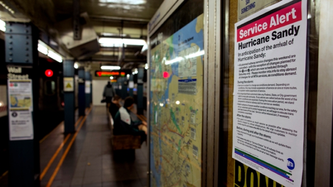 DETAILS: Subway, Bus, Rail Options After Sandy
