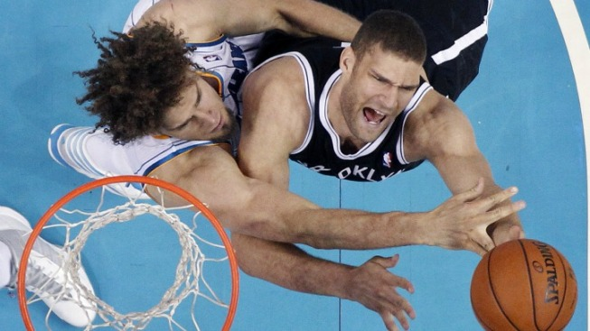 Brook Lopez Goes Fourth to Great Effect