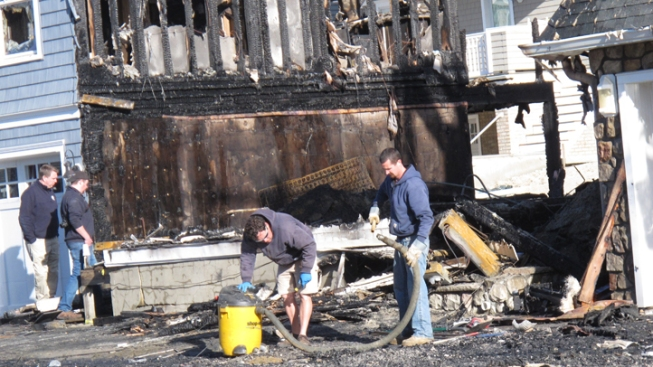 Fire Damages 12 Homes in Jersey Shore Town
