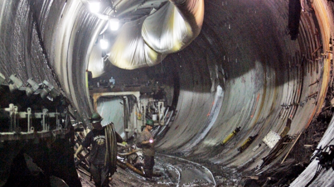 Giant Tunneling Machines Finish Work in NYC