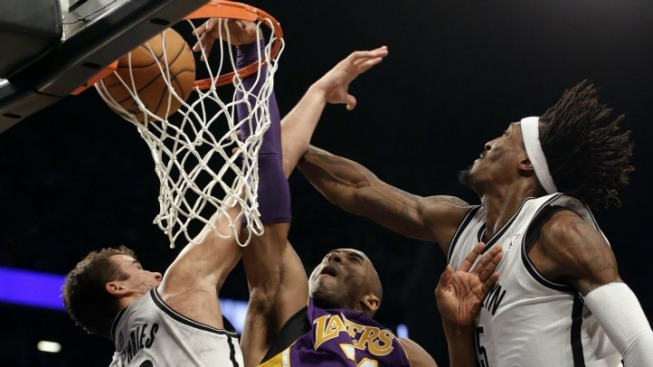 Lakers Show Nets There's Work to Be Done