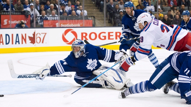 Rangers Fall to Maple Leafs 4-3