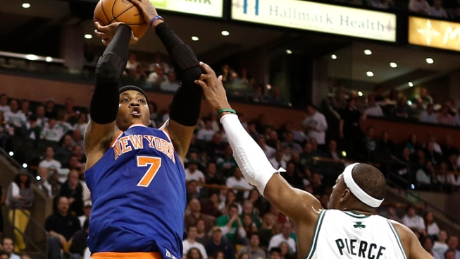 Knicks Roll to 3-0 Lead Over Celtics