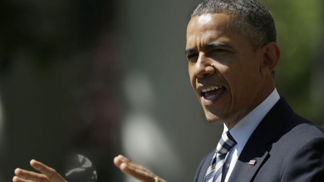 Obama Meets with Relatives of Newtown Victims