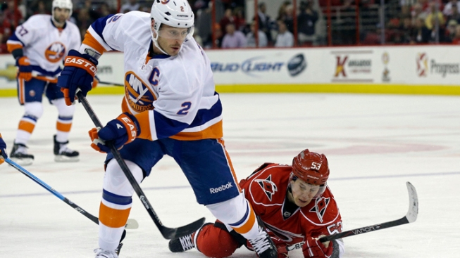 Islanders Clinch Eastern Conference Playoff Spot, Despite Loss to Hurricanes
