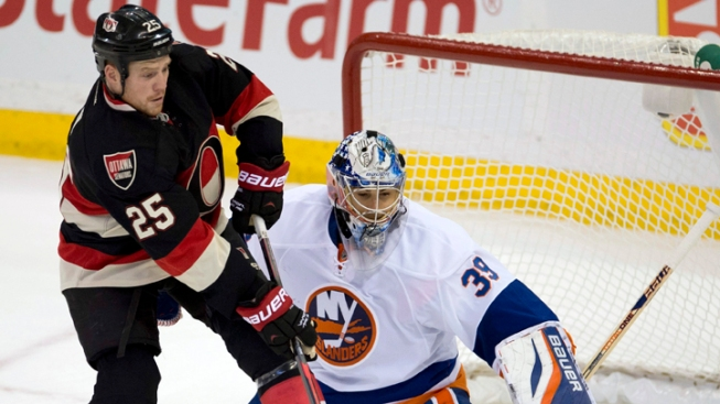 Islanders Defeated by Senators 3-1