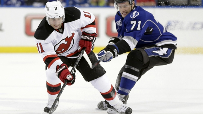 Devils Fall to Lightning 5-4