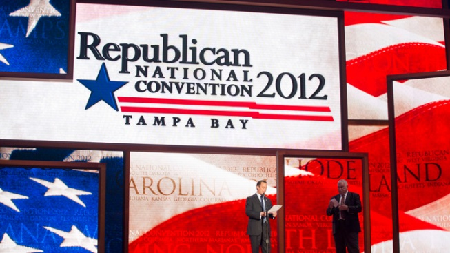GOP Shuffles Convention Schedule
