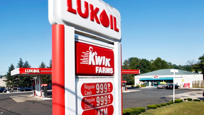 Gas Prices Hit $8 in NJ in Lukoil Protest