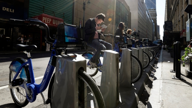 Man Hit by SUV While Riding NYC Bike Share Bike
