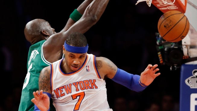 Knicks Beaten by Celtics in First Matchup of Season