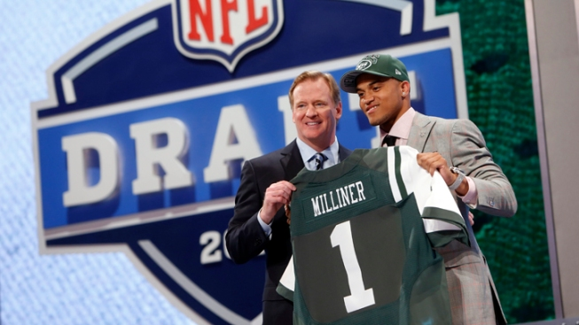 Jets Draft Milliner to Replace Revis With 9th Pick