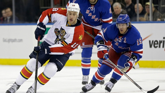 Rangers Fall to Panthers 3-1