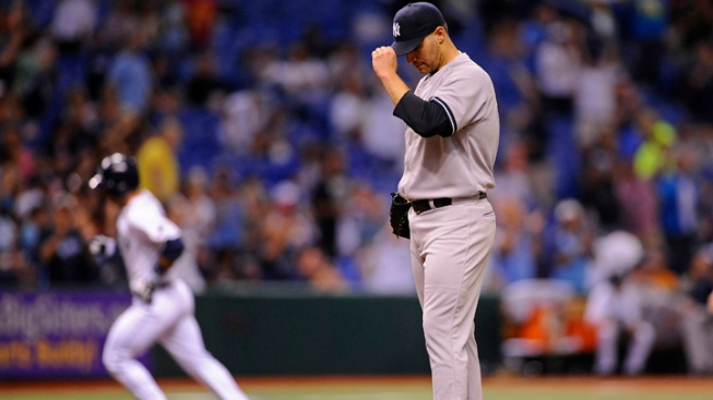 Yankees Come Up Short, Fall to Rays 3-0