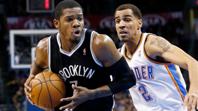 Nets Drop Thunder 110-93