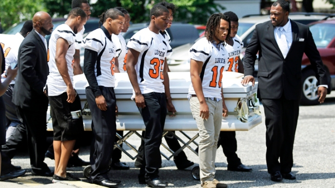 Funeral for NJ Cheerleader Killed During Robbery