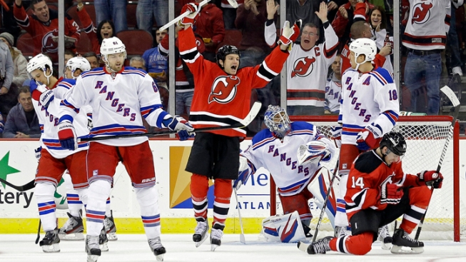 Clarkson Scores 2, Sets Up 1, Devils Beat Rangers