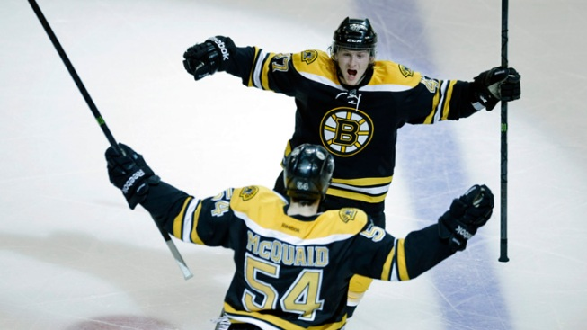 Bruins Head to Stanley Cup Finals, Thanks to McQuaid's Goal