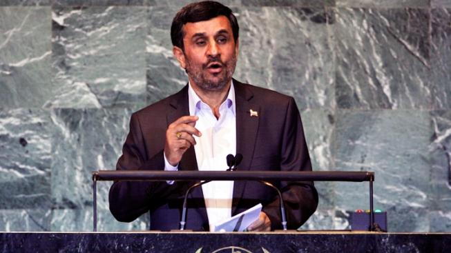 Protests Surround Ahmadinejad's NYC Visit