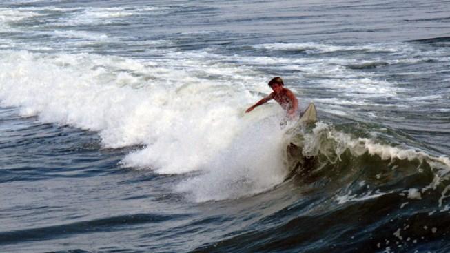 Distant Storm Leaves NJ Surf Churned Up, Risky