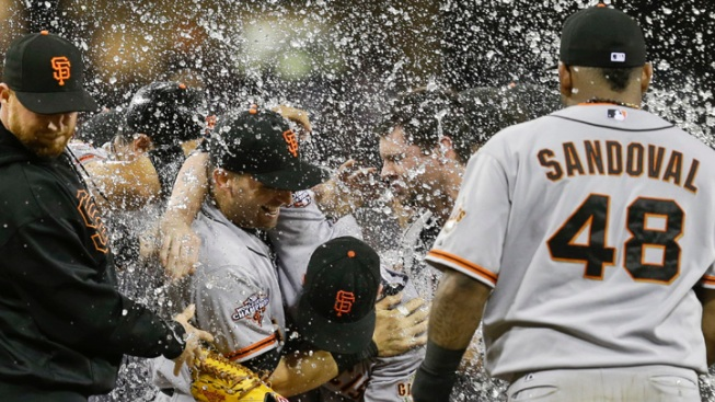 Giants' Lincecum Throws First No-Hitter
