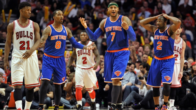 Knicks' Streak End With 118-111 Loss to Bulls