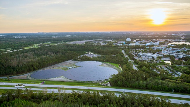 Mickey Mouse-Shaped Solar Facility Unveiled at Disney World