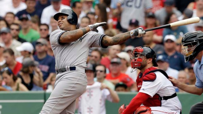 Jones Powers Yankees Past Red Sox