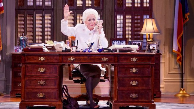 "Review: Holland Taylor as the Late Governor of Texas in ""Ann"""