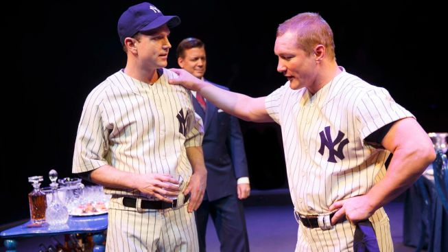 "Review: Peter Scolari Comes to Bat as Yogi Berra in ""Bronx Bombers"""