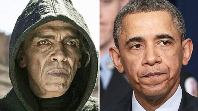 "Obama-Satan Resemblance ""Utter Nonsense"" Says ""The Bible"" Producers"