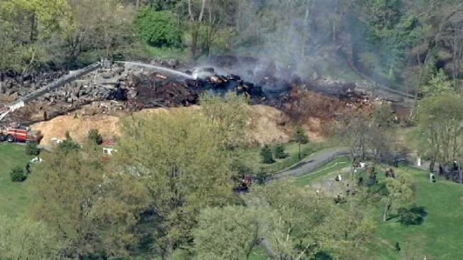 Small Brush Fire Extinguished in Central Park