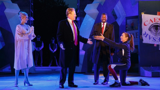 Fox News horrified by political undertones of Shakespeare's Julius Caesar