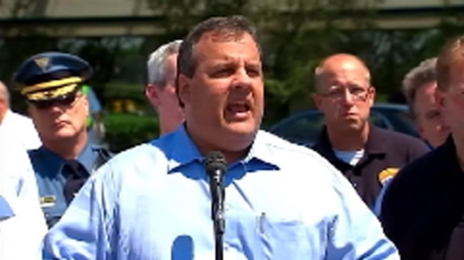 Video Shows Christie Yell at Critic on Jersey Shore Boardwalk