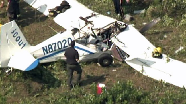 Banner Plane Crashes Near Jersey Shore