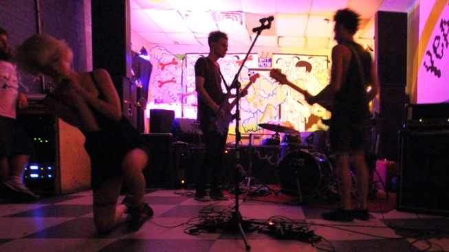 Last Night at Death By Audio: K-Holes, Alps, Hunters, Zulus