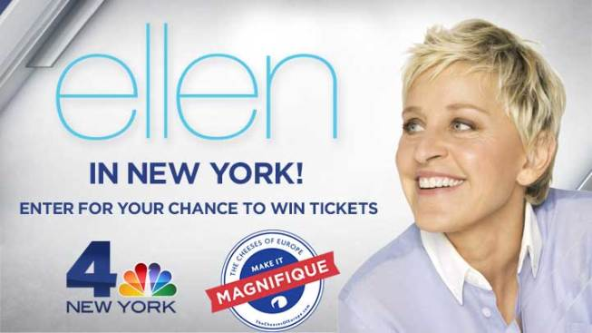 Ellen Takes New York!