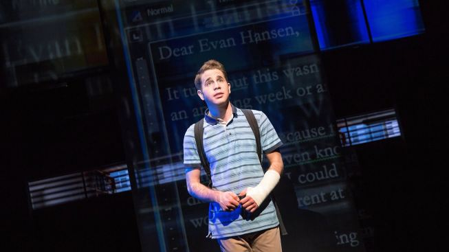 Songwriting Duo's 'Dear Evan Hansen' Hits Letter-Perfect Notes