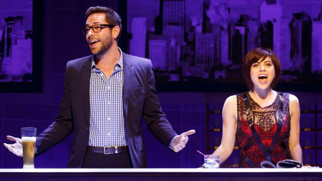 "Review: ""First Date,"" with Zachary Levi and Krysta Rodriguez, Makes a Connection"